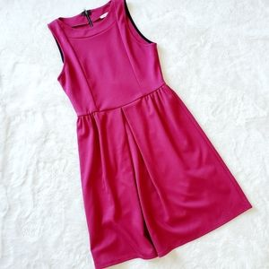 ANTHRO | EVERLY zip back pink dress